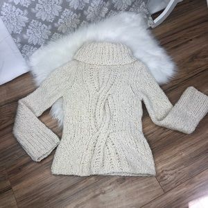 Express crotchet sweater